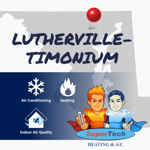 Lutherville Timonium MD Air Conditioning Heating Services