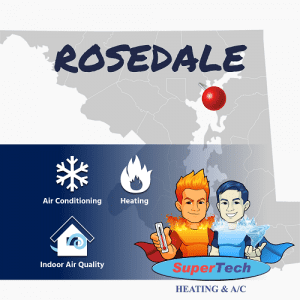 Rosedale MD Air Conditioning Heating Services