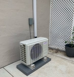 Mini Split AC installation