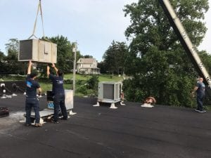 Remove Old Commercial hvac unit Baltimore MD