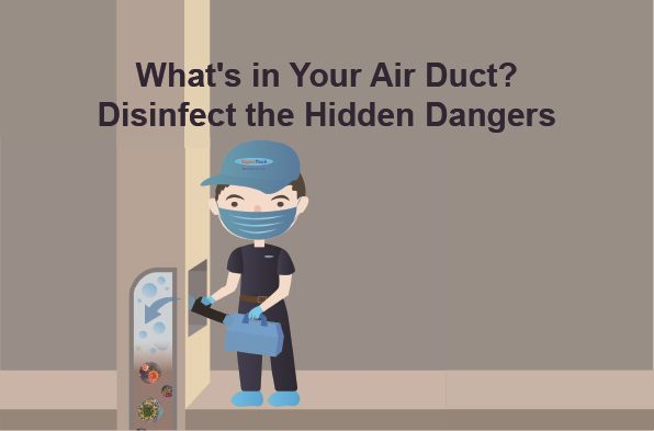 air duct disinfect sanitization