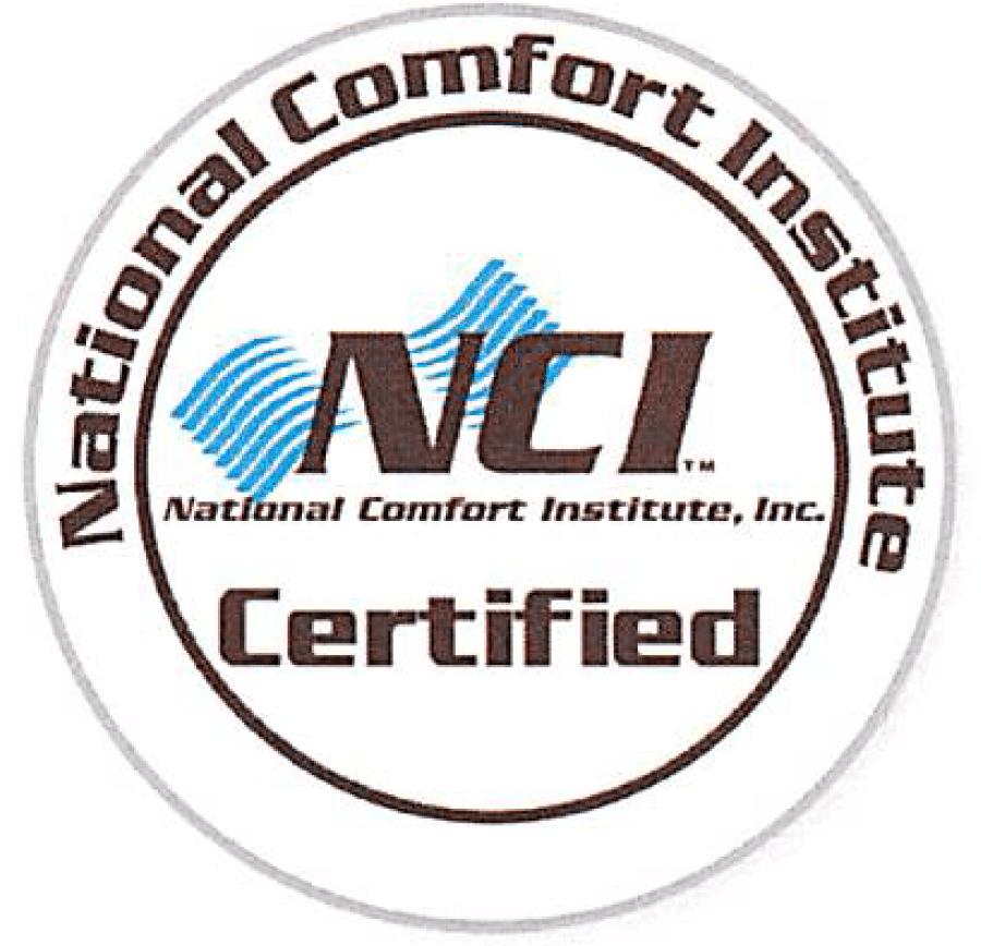 NCI certified badge