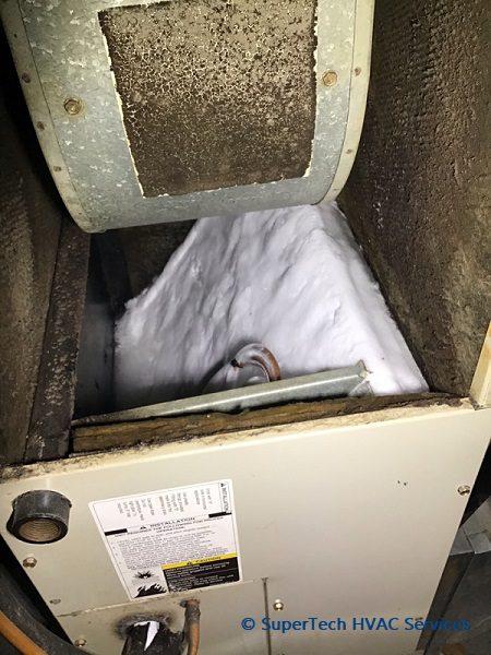 AC Evaporator Coil Frozen st (1)