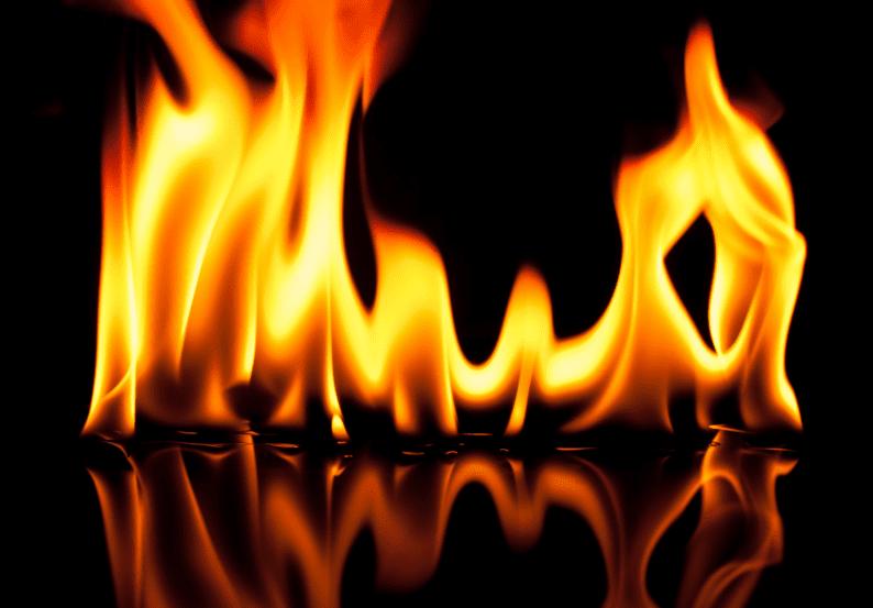 no fire = no heat